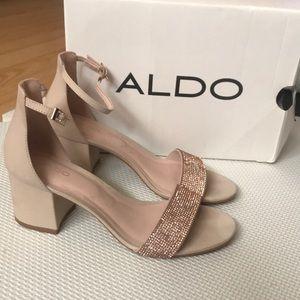 Aldo gladoniel kitten heel sandal